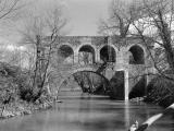 Arudy : Le Pont Romain en 1984