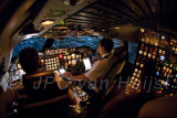 747-200F during approach