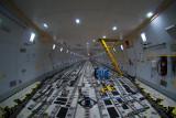 Empty cargo hold