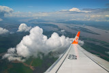 Flight over the Amazon