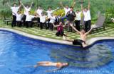 The fun and warm staff of Hotel Soffia Boracay