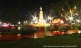 Cateel Centennial Park at night