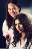 Prasoona and makeup artist Ann