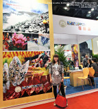Me and my photos in CIBTM 2011