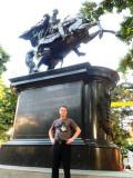 Drew at El Libertador Monumento.jpg