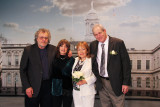Left to right: Richard, Judy, Orna and Moshe before the wedding ceremony at the City Clerk's Marriage Bureau in Manhattan