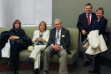 Left to right: Judy, Orna, Moshe, Jack and Mary Ann before the wedding ceremony at the City Clerk's Marriage Bureau in Manhattan