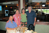 Cousin Alan (father's side), his wife Ruth, Judy and Richard - 7/2012