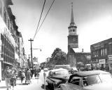 Flatbush Ave. looking south toward Church Ave. (1953)