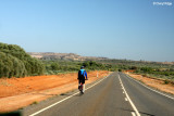 9283- cycling, Broken Hill outskirts