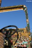 7654- bottle cap encrusted jeep