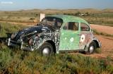7669- Painted VW bug at Silverton