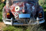 7671- Painted VW bug at Silverton