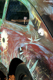 7677- Painted VW bug at Silverton