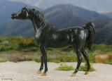 Breyer Black Stallion Returns - Shetan 1980s