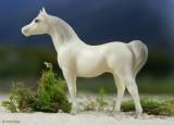 Breyer Stablemate G1 Arab Stallion - alabaster