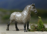 Breyer Stablemate G1 Draft Horse - dapple grey
