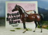 Breyer Proud Arabian mare - mahogany bay 1970s
