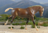 Breyer Cantering Welsh Pony CWP Small World special run 1988