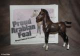 Breyer Proud Arabian foal - mahogany bay 1970s