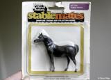 Breyer Stablemate G1 Arab Stallion - dark grey