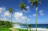 Bathsheba, on the east coast of Barbados