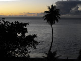 Sunset over the South Pacific