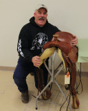Bill Haley of Tri- Rivers Chapter Won the Saddle