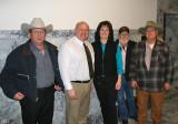 Traildusters members with Representative Kirk Pearson