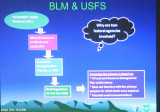 BLM and USFS