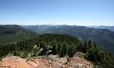 Looking SE fromCispus Peak