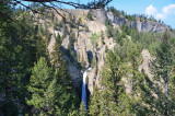 Tower Falls and Calcite Springs Overlook