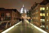 St. Paul's Cathedrale from the Millenium Bridge.