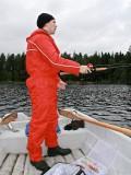 Gustaf fishing