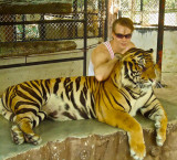 Gustaf and a tiger
