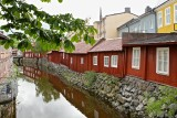 Old Buildings along Svartån (Black river).