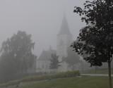 The Church a hazy morning.