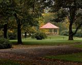 Pavillion in the park.