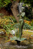 Statue in the Botanical Garden by Anders Zorn.
