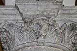 Sculpture on capital