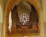 The organ in S:t Nicolai church