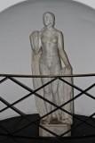 Statue in the public bath