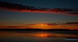 Östersjön a cold january sunrise