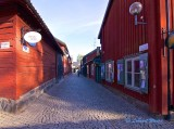Old parts of Downtown Västerås.