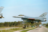 F-16A J-136