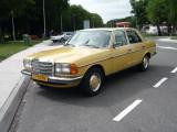 My yellow Mercedes w123 280E