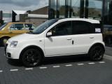 The first new car...Fiat Panda 100HP