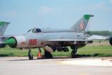 MiG-21R 1085
