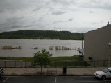 Ohio River at Flood stage today 4-23-11