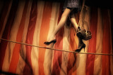 Glamour On A Tightrope